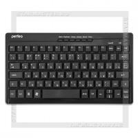 Клавиатура беспроводная Perfeo «COMPACT» Black, мультимедийная