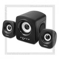 Акустическая система 2.1 DEFENDER Z6, 11Вт, FM/MP3, 220V, черный