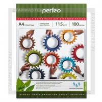 Бумага для струйной печати Perfeo A4 глянцевая односторонняя 115 г/м2 G12, 100л