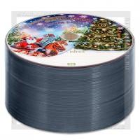 Диск Mirex DVD+R 4,7Gb 16x bulk 50 «Новогодний»