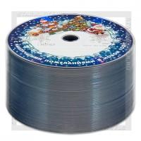 Диск Mirex DVD-R 4,7Gb 16x bulk 50 «Новогодний»