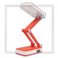 Светильник настольный LED SmartBuy 4W, 220V, 2 режима, аккумулятор, оранжевый