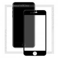 Защитное стекло Perfeo для Apple iPhone 7, 2.5D Full, черное, 0.33мм (5064)