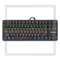 Клавиатура игровая механическая DEFENDER Stalker GK-170L USB, RGB, Anti-Ghost