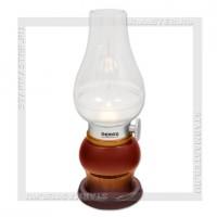 Светильник настольный LED REMAX RL-E200 Aladdin, 3 LED, аккумулятор, USB 5V, коричневый
