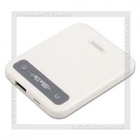 Аккумулятор портативный REMAX 2500 mAh Pino, USB, белый