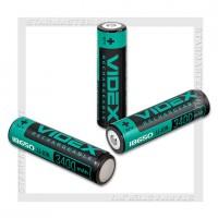 Аккумулятор 18650 3400mAh Videx Li-ion 3.7V box/1, с защитой