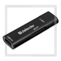Картридер DEFENDER Speed Stick Type-C, USB3.0/SD/TF