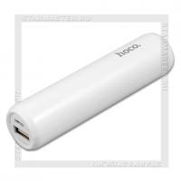 Аккумулятор портативный HOCO 2600 mAh B35, USB, белый