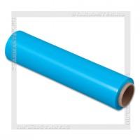 Упаковочная пленка стрейч «Багажная» 250мм*17мкм (нетто 0,3 кг), синяя