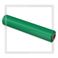Упаковочная пленка стрейч зеленая 500мм* 17мкм (нетто 2 кг)