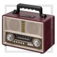Радиоприемник BLAST BPR-712 с MP3, USB/SD/microSD, стерео, 220V/4xR20, шампань