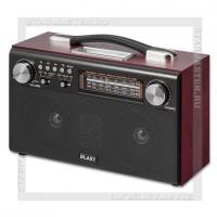 Радиоприемник BLAST BPR-812 с MP3, стерео, Bluetoot, USB/SD, 220V/аккумулятор, черный