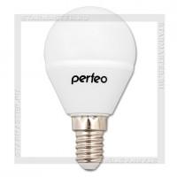 Светодиодная лампа E14 G45 7W 3000K, Perfeo LED 220V