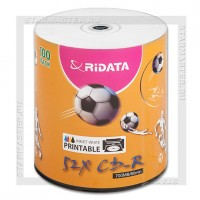 Диск Ritek (RiData) CD-R 700Mb (80 min) 52x Printable bulk 50