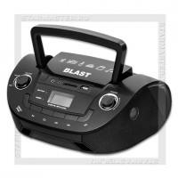 Радиоприемник BLAST BB-513 с MP3, USB/microSD/SD, Bluetooth, 220V/4xR20, черный