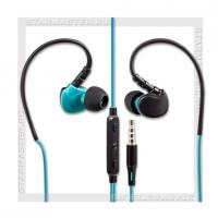 Стереогарнитура для мобильного телефона DEFENDER OutFit W770,3.5мм Black/Blue