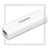 Аккумулятор портативный REMAX 2600 mAh Mini RPL-3, USB, серый