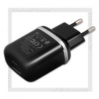Зарядное устройство 220V -> USB Quick Charge 3.0 HOCO BF BA36A, черный, 18W